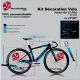 Sticker Cadre Vélo BH G7 PRO 2020 (Jaune Fluo possible)
