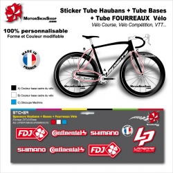 Planche Sticker base Lapierre Ultimate Pro Team Hauban Base Fourreau