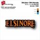 Sticker ELSINORE Honda 1980 Plaque latérale