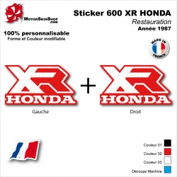 Sticker Réservoir 600 XR Honda 1987