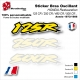 Sticker Bras Oscillant CR125 CR250 CR500 Honda Vintage et Collection