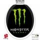 Sticker abattant WC Monster Energy
