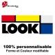 Sticker vélo Look couleur