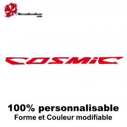 Sticker vélo Cosmic