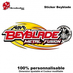 Sticker Beyblade Metal Fusion