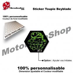 Sticker Beyblade Roch Scorpio