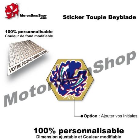 Sticker toupie Beyblade Site Chronos