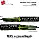 Sticker coque Jet Ski Monster Energy