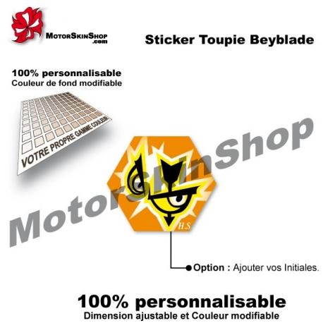 Sticker toupie Beyblade Flash Sagittario