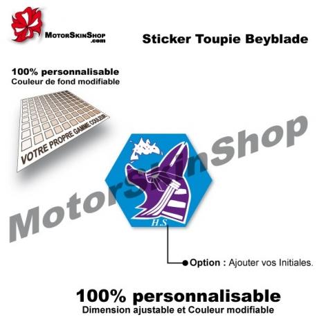 Sticker Beyblade Mercury Anubis