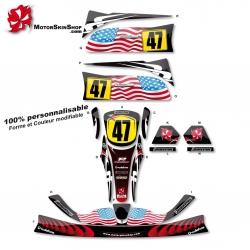 Kit déco Karting CRG