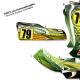 kit déco karting intrepid vert