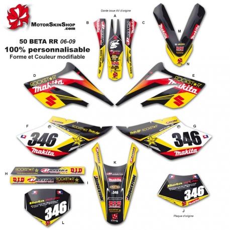 Kit déco 50 Beta suzuki RR 06-09