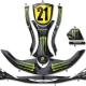 Kit déco Karting Stilo Evo Monster Energy