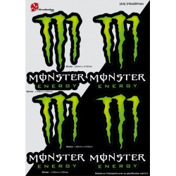 Sticker Monster Autocollant Energy planche