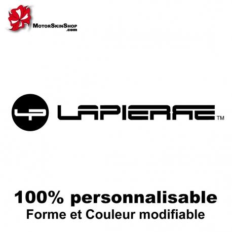 Sticker vélo ancien logo Lapierre