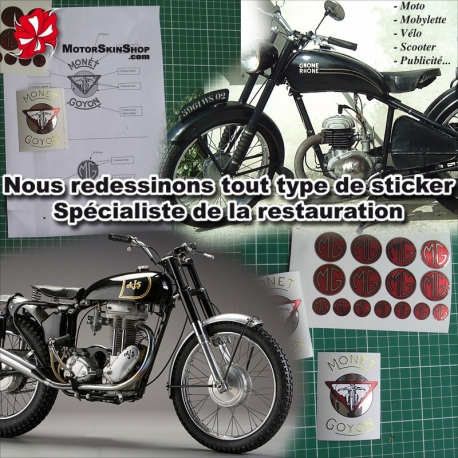 Sticker restauration autocollant introuvable