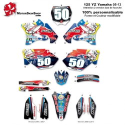 Kit déco 125 YZ Yamaha