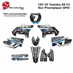 Kit déco 125 YZ Yamaha plastique UFFO