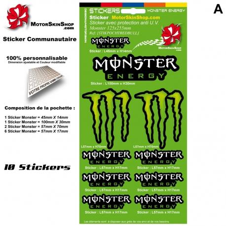 Pochette Sticker autocollant Deécoration