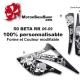 Kit déco 50 Beta RR 06-09 Metal Melisha