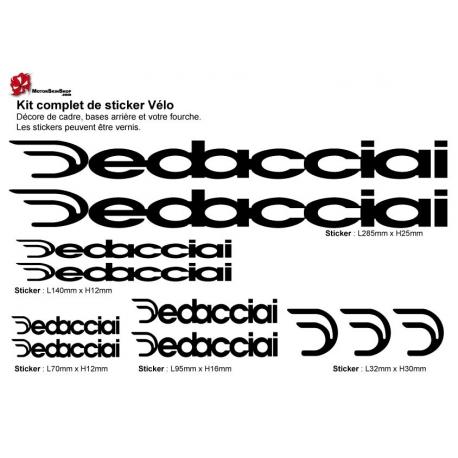 Sticker cadre vélo Kit Edacciai