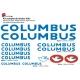 Sticker cadre vélo Kit Columbus
