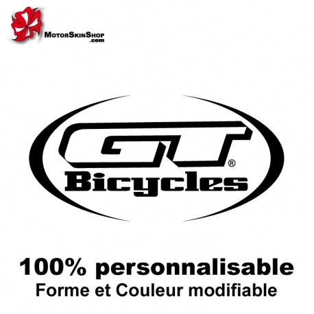 Sticker vélo GT Bicycles