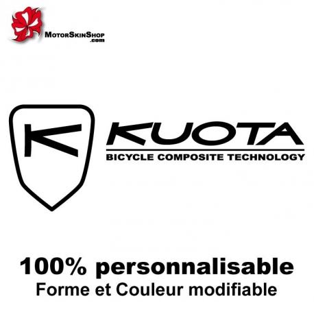 Sticker vélo Kuota