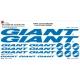 Sticker Kit cadre vélo XXL Giant
