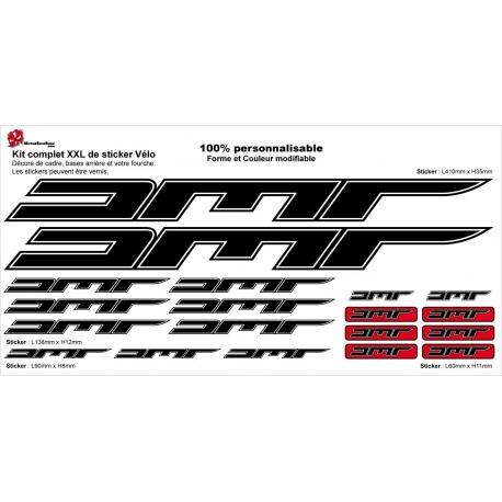 Sticker Kit cadre vélo XXL AMR