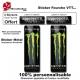 Sticker fourche vélo VTT Monster Energy