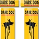 Sticker fourche vélo VTT Dark Dog