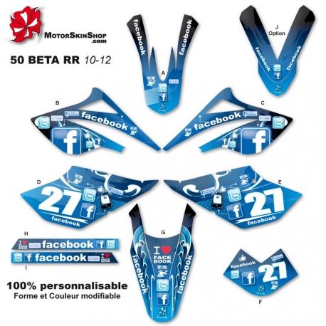 Kit déco 50 Beta Dark Dog RR 10-12