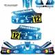 Kit déco Karting KG Unico Facebook Twitter