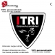 Sticker Logo ITRI Triathlon Triangulaire
