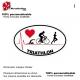 Sticker Logo Pulsion Triathlon