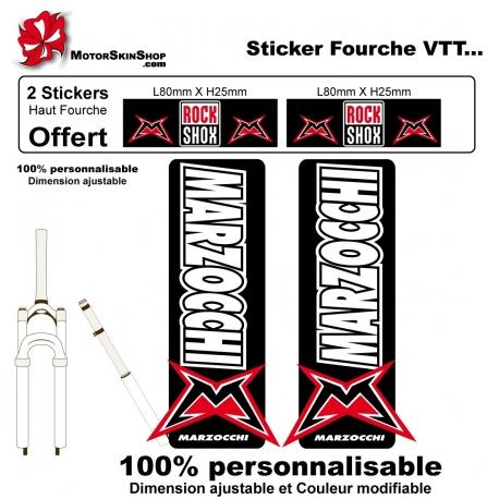 Sticker Fourche Vélo Grand Marzocchi VTT