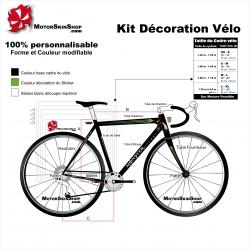Sticker cadre course Scott Monster Décoration vélo complète