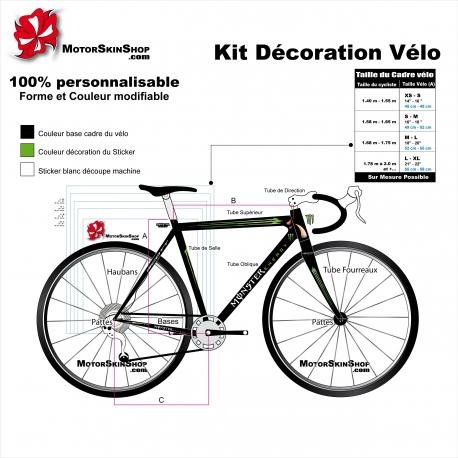 Kit décoration Vélo Scott Monster Enery Sticker complet