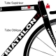 Kit décoration Vélo Scott Triathlon complet