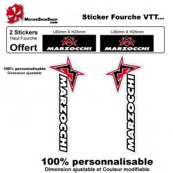 Sticker Fourche Marzocchi VTT Vélo