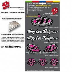 Planche Sticker Troy lee Designs Rose