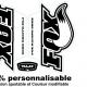 Sticker fourche vélo Fox 32 VTT