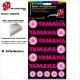 Pochette Sticker Yamaha