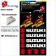 Pochette Sticker Suzuki