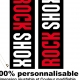 Sticker fourche Rock Shox Standard
