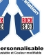 Sticker fourche Rock Shox Revolution Bleu
