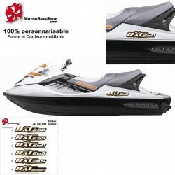 sticker RXT Seadoo coque Jet Ski