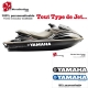 Sticker coque Jet Ski Yamaha
